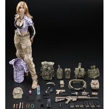"DAMToys Zona Combat Girl Series 1/6 Scale 12"" Female Gemini Zona Figure DCG001 #DCG001"