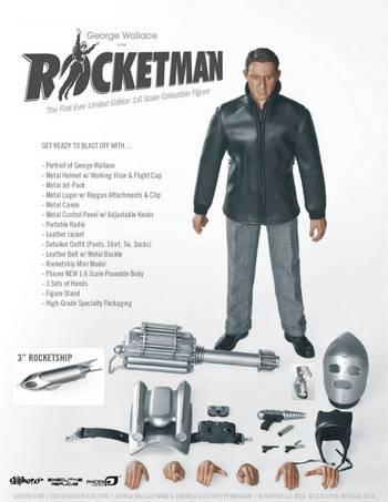 "Executive Replicas Go Hero Phicen 1/6 Scale 12"" Rocketman Action Figure 2014-26 #PL-2014-26"