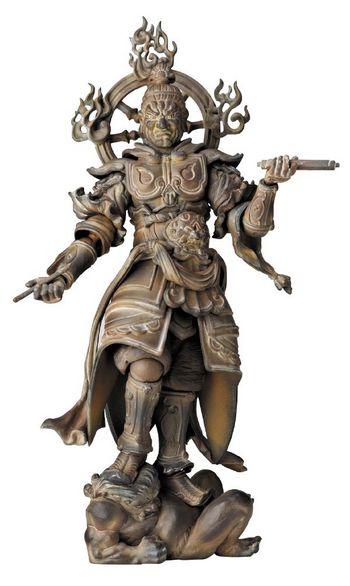 "Revoltech Takeya Takayuki Buddhist Statues Collection 002 5"" Komokuten Figure #4537807042095"