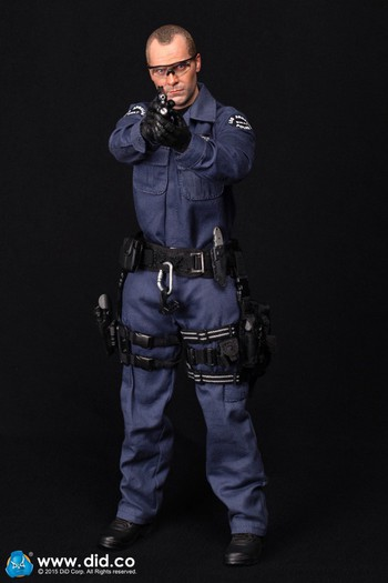 "DID 1/6 Scale 12"" LAPD Police SWAT Point-Man Denver Action Figure MA1006 #MA1006"