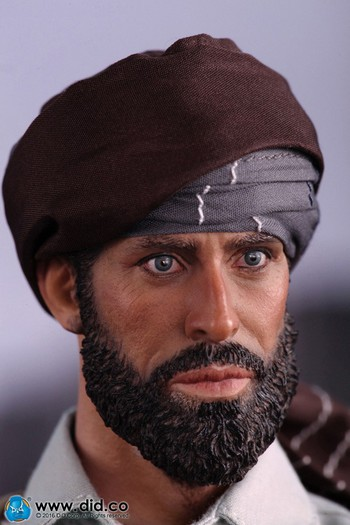 "DID 1/6 Scale 12"" Soviet-Afghan War 1980s Afghanistan Civilian Fighter 18011 #18011"
