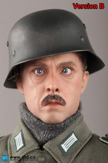 "DID 1/6 Scale 12"" WWII German Army Supply Duty Hans Version B Figure D80109SB #D80109SB"