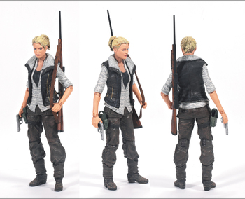 "2013 McFarlane Toys The Walking Dead Series 4 Andrea 5"" Action Figure #WD-014"