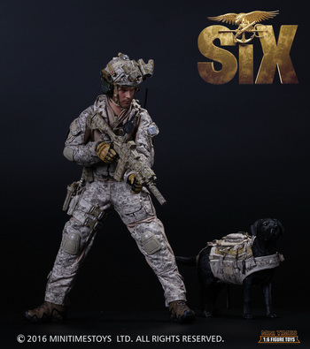"""Mini Times 1/6 Scale 12"""" US Navy Seal Team 6 Devgru Action Figure with Dog M006 #M006"""