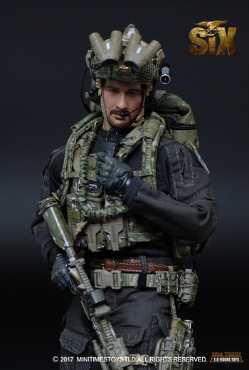 """Mini Times 1/6 Scale 12"""" US Navy Seal Team Six Action Figure M008 #M008"""