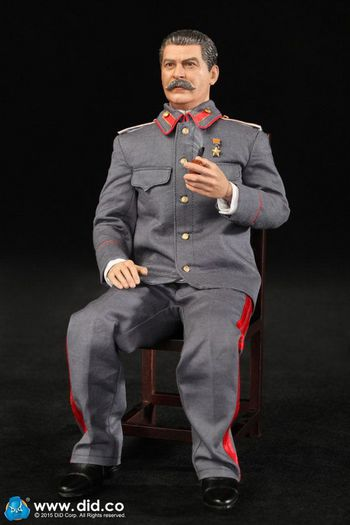"DID 1/6 Scale 12"" WWII Russian Soviet Union Joseph Stalin Action Figure R80110 #R80110"