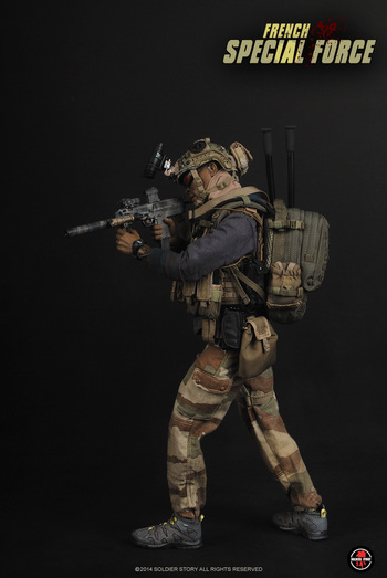 "Soldier Story 1/6 Scale 12"" French Special Forces Action Figure SS085 #SS-085"