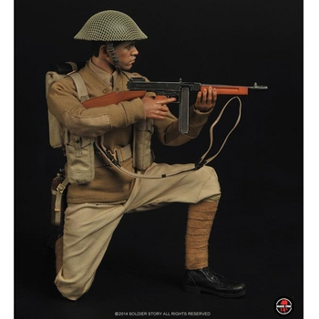"Soldier Story 1/6 Scale 12"" Chinese Expeditionary Force Action Figure SS-082 #SS-082"