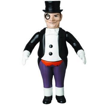 "Medicom DC Comics Originals Sofubi 10"" Retro Soft Vinyl Penguin Action Figure #4530956469775"