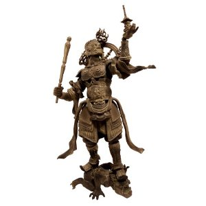 Revoltech Takeya Takauki Buddhist Statue Collection Wooden Series Tamonten 001 #4537807042088