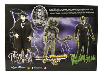 2013 Diamond Select Universal Studios Monsters 3 Pack Metaluna Mutant Don Juan #DC-20