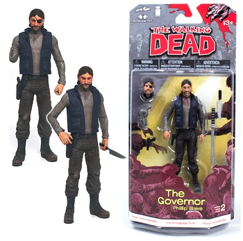 2013 McFarlane Toys The Walking Dead Series 2 Governor Phillip Blake Figure #WD-001