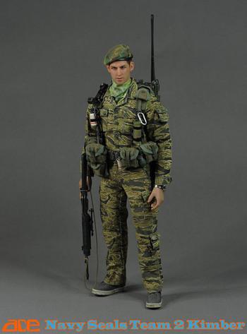 Ace Ace 1 6 Scale 12 Quot Vietnam Us Navy Seals Team 2 Kimber