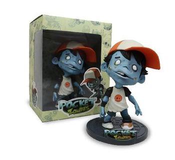2009 Pocket Zombies Ted-E 6'' PVC Figurine #DKE-02