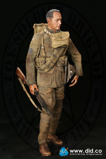 "DID WWI American Infantry Expeditionary 1/6 Scale 12"" Buck Jones Special 11010S #11010S"