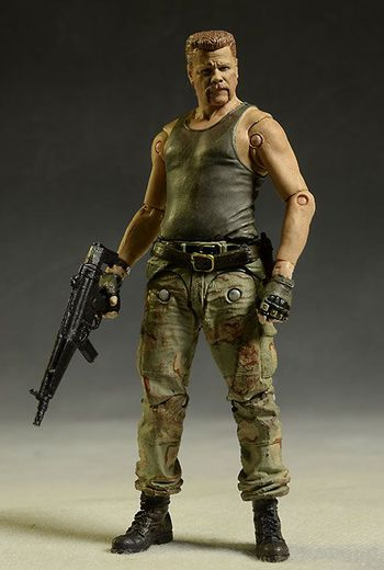 2014 Mcfarlane Toys The Walking Dead Series 6 Abraham Ford Action Figure #643164316