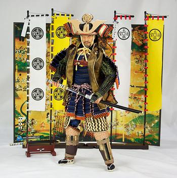 "DID 1/6 Scale 12"" Japan Samurai Oda Nobunaga Action Figure International S70005B #S7005B"