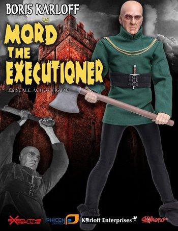 """Executive Replicas Phicen 1/6 Scale 12"""" Boris Karloff As Mord The Executioner #ERBK002"""