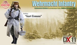 "Dragon DX-11 WWII German 1/6 Scale 12"" Kurt Eismann Wehrmacht Infantry 70831 #70831"