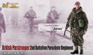 "2012 Dragon 1/6 Scale 12"" Falklands War 1982 British Paratrooper Jones 70841 #70841"