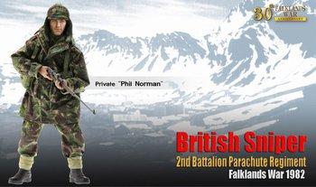 """Dragon 1/6 Scale 12"""" Falklands War British Sniper Private Phil Norman 70842 #70842"""