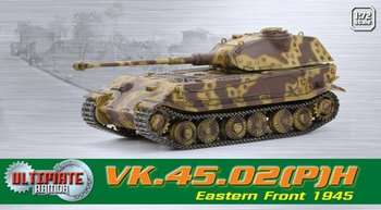 Dragon Ultimate Armor 1/72 Scale WWII German 1945 VK.45.02(P)H Tank 60588 #60588