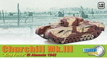 Dragon Armor 1/72 Scale WWII British Churchill MK.III Kingforce Tank 60592  #60592