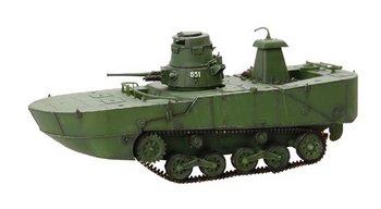 Dragon Armor 1/72 Scale WWII Japannesse IJN Type 2 Ka-Mi with Pontoon Tank 60610 #60610