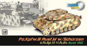 Dragon Armor 1/72 Scale Pz.Kpfw.III Ausf.M w/Schurzen 4./Pz.Rgt. 15 Tank 60663 #60663