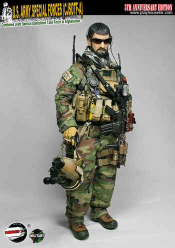 """Playhouse 1/6 Scale 12"""" 5th Anniversary Edition US Army Special Forces SW-PH014 #SW-PH014"""