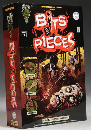 "Shrunken Head Studios Bits & Pieces Series 1 Set for 1/6 Scale 12"" Action Figure #4997"