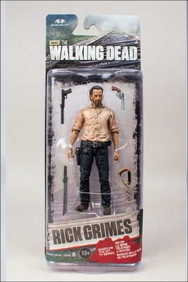 2014 McFarlane Toys The Walking Dead Series 6 Rick Grimes Action Figure #WD-20