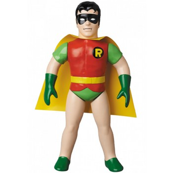 "Medicom DC Comics Originals Sofubi Retro 10"" Soft Vinyl Action Figure Robin #4530956469768"