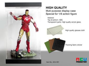 "ACU Productions Display Box Case for 1/6 Scale 12"" Action Figure ACU-001 #ACU-001"