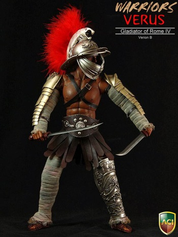 "ACI 1/6 Scale 12"" Warrior Series Gladiators of Rome IV Verus B Figure ACI16B #16B"