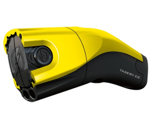 TASER® C2 Yellow with integrated Lasersight #39035