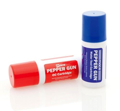MACE® Pepper Gun - OC and Water Test Refill Cartridges #80422