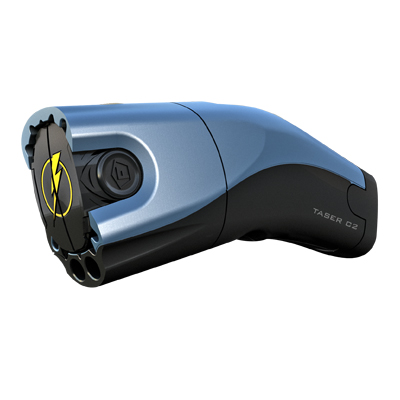 TASER® C2 Electric Blue with integrated Lasersight #31040