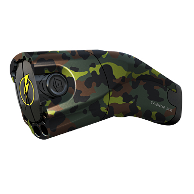 TASER® C2 Forest Camo with integrated Lasersight #31186