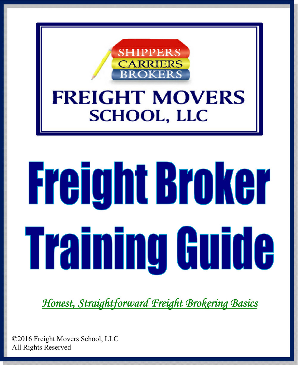 Freight Broker Training Certification Manual Guide