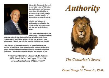 AUTHORITY - THE CENTURION'S SECRET #BK-1133