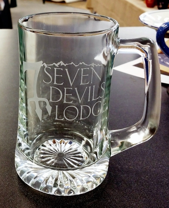 15oz. Sports Glass Stein with Custom Logo #GW10205E.SDL