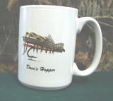 EL113.GSH - 15 oz. Daves Hopper Dry Fly El Grande Mug EL113.GSH