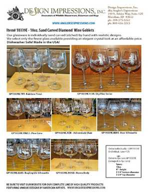 Product Sheet - 18oz. Diamond Balloon Wine Glasses GW10339
