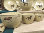 AD10279.HRW - Adventure 3pc Western Horse Serving/Mixing Bowl Set AD10279.HRW