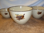AD10279.PHFC - Adventure 3pc Scenic Pheasant Serving/Mixing Bowl Set AD10279.PHFC