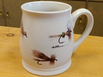 BL10262.FLYA - Bell Mug - Bright White - Dry Flies Series BL10262.FLYA