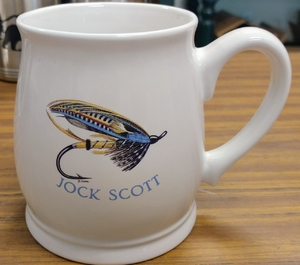 BL10262.SJS - Jock Scott Salmon Flies 16oz. White Bell Mug BL10262.SJS