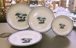 CR10318.LLW - 20pc Classic Rustic Loon Dinnerware Set CR10318.LLW