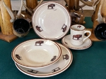 CR10317.BUF - 20pc Classic Rustic Buffalo Dinnerware Set CR10317.BUF